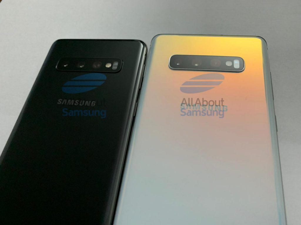 Prototype Samsung Galaxy S10 dan S10 Plus Bocor